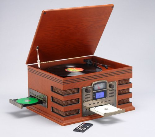 Cordless 5 In 1 Cd Burner Stereo Music System Player