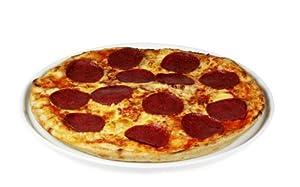 Pizza Salami vorgebacken