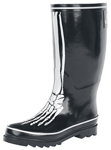 Full Volume by EMP Bone Rubber Boot Stivali pioggia nero EU41