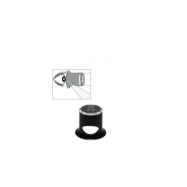 Bergeon 2611-TN 3.3X Watchmaker Loupe Biconvex Air 3.0