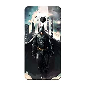 EYP Superheroes Batman Dark knight Back Cover Case for HTC One M7