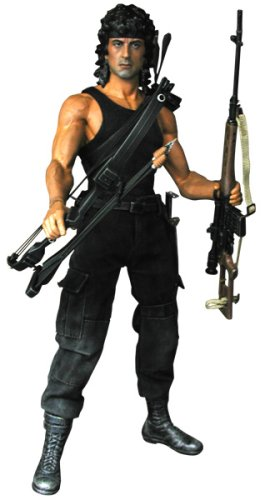 Movie Masterpiece - 1/6 Scale Fully Poseable Figure: Rambo III - John J Rambo