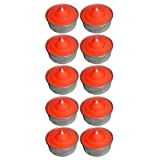 Atorakushon Smokeless Scented Orange Tealight T-Lite Candles For Diwali Birthday Party Gift Christmas Candle Lighting... - B011A2JZ98