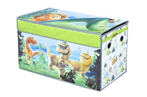 Disney Collapsible Storage Trunk Toy Box Organizer Chest: Good Dinosaur Toy Bin Furniture Disney Bedroom Collapsible