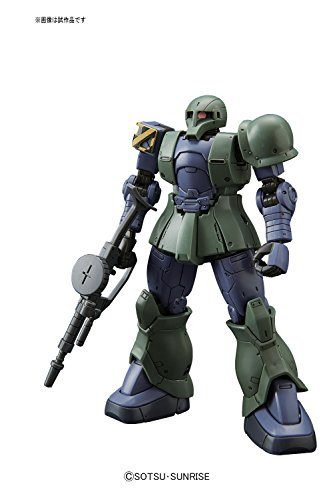 HG機動戦士ガンダム THE ORIGIN ザクI (デニム/スレンダー機) 1/144スケール 色分け済みプラモデル