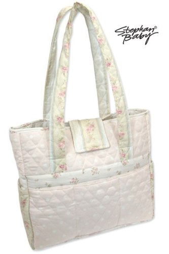 Stephan Baby Dots Diaper Tote - 1