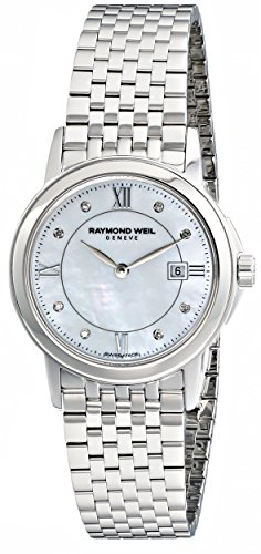 raymond-weil-womens-5966-st-00995-tradition-diamond-accented-stainless-steel-bracelet-watch