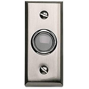 Atlas Homewares DB644-BRN 2.75-Inch Mission Bell from the Mission Collection, Brushed Nickel