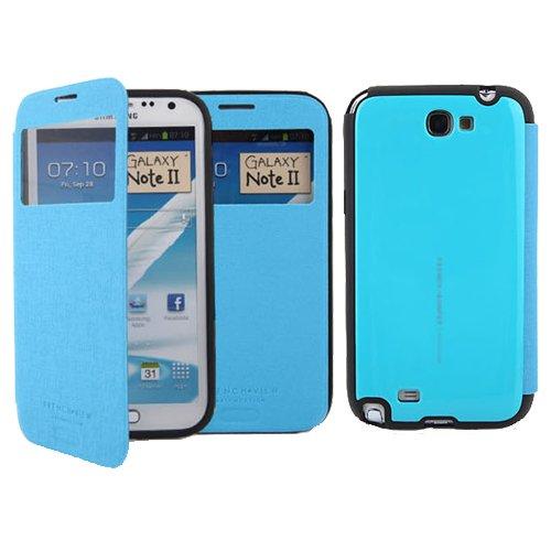 Galaxy S4 ケース Arium French Bumper View Case ギャラクシー S4 バンパー ビュー フリップ ケース ブルー(Blue) / SC-04E 携帯 スマホ スマートフォン モバイル ケース カバー ダイアリー 手帳型 ケース カード 収納 ポケット スロット