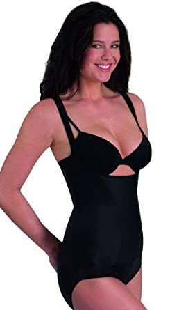 Wear Your Own Bra Shaping Torsette with Extra Firm Control from Miraclesuit, Black, Large (UK 14)