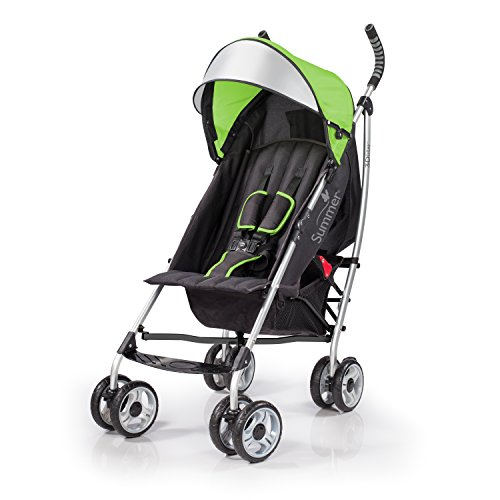 Best Price Summer Infant 2015 3D Lite Convenience Stroller, Tropical Green