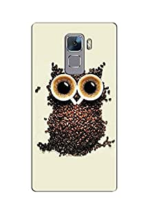 Print tech back cover for Huawei Honor 7
