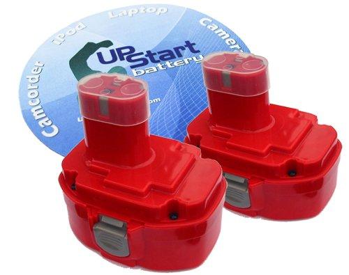 2-Pack Battery Compatible with Makita LS711D - Replacement Makita 18V Battery (3300mAh, NI-MH)