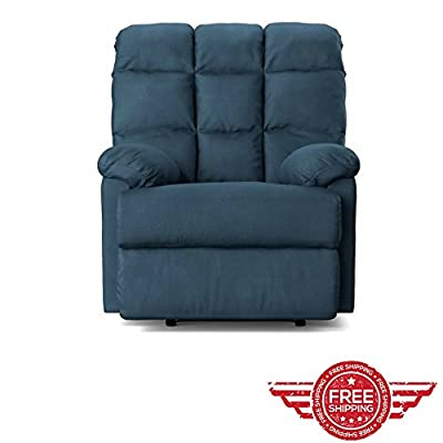 Sofa Lounging Chair Livingroom Lounger Foldable Footrest Modern Elegant,Faux Recliner Indoor Relaxer Furniture & E book by Easy2Find.