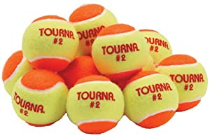 Buy Unique Sports Low Compression Quickstart Tennis Balls for 60-Feet Court (Pack of 12) by Unique