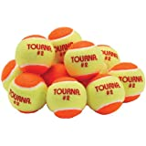 Tourna Low Compression Quickstart Tennis Balls For 60-Feet Court (Pack Of 12), One Size/Multi