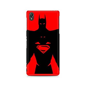 Ebby Superman within Batman Premium Printed Case For Sony Xperia Z5 Dual