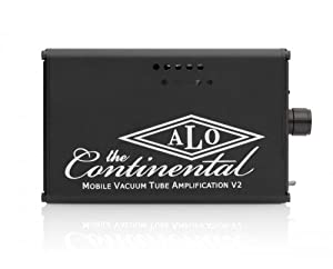 TheContinental V2 ブラック ポータブル真空管ヘッドホンアンプ ALO-0958
