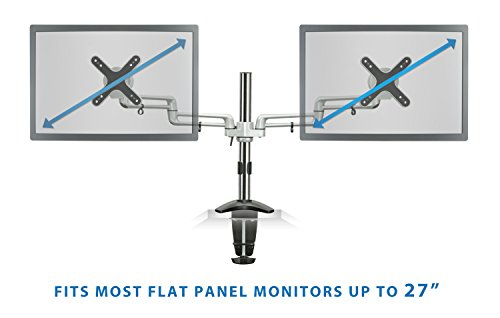 Monitor Accessories Mount It Mi 732 Dual Monitor Office