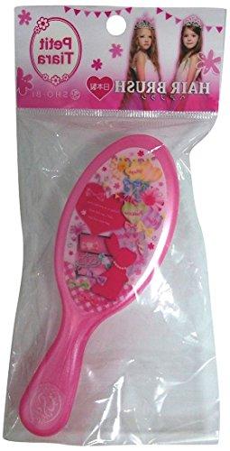 プチティアラヘアブラシ ピンク