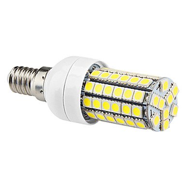 Led Bulbs - E14 7W 69X5050Smd 630Lm 6000-6500K Natural White Light Led Corn Bulb (220-240V)