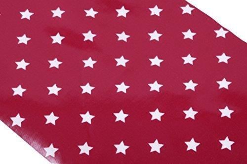 ciree-au-metre-au-maison-essuyez-tissu-propre-pour-nappes-etoile-rouge-2m