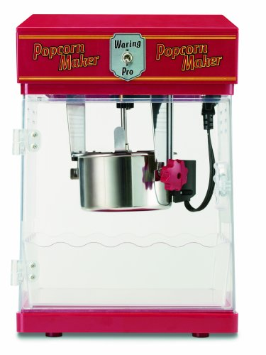 Waring Pro WPM25 Professional Popcorn Maker, Red (Theatre Popcorn Machine compare prices)