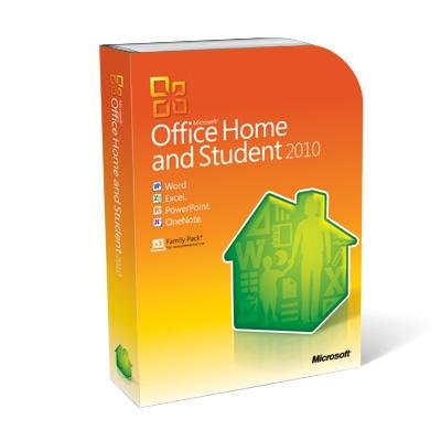 Microsoft Office Home And Student 2010 3-Users