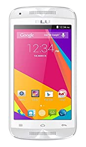 BLU Dash C Music-Global GSM - Unlocked Cell Phone (White)