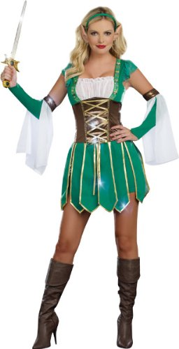 Morris Costumes Women's Warrior Elf Costume, Small