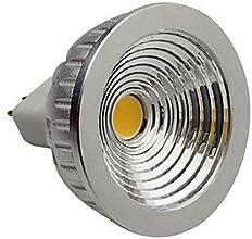 Dimmable MR16 5W COB 450LM 3000K Warm White LED Spot Lamp LightDC12V
