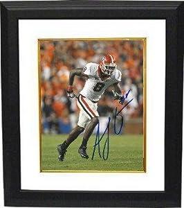 Autographed Green Picture - AJ Georgia Bulldogs 16X20 Custom Framed - Autographed... by Sports+Memorabilia