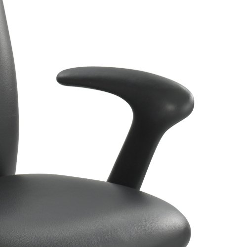 Safco Products 3498BL Fixed Arm Set for use with Uber Big and Tall Chairs, sold separately, Black Optional Fixed Arms