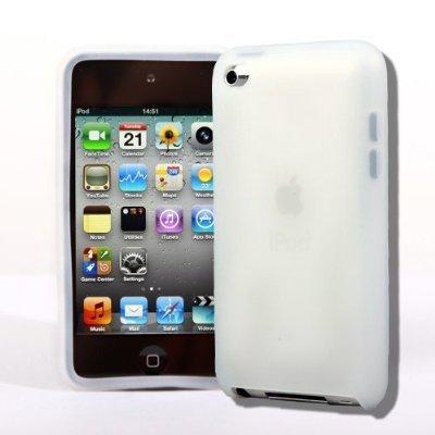 SODIAL(Wz.) 4G Touch Klar Silikon-Tasche