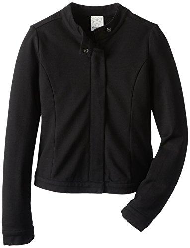 Splendid Big Girls' Soho Girl Jacket, Black, 10 front-772060
