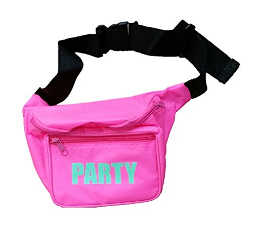 80s Party Fanny Pack in a range of colors