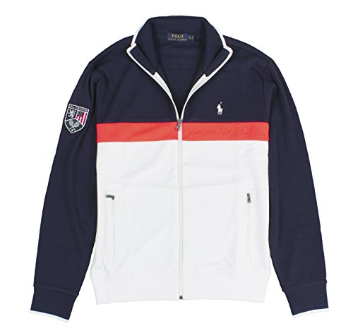 Polo Ralph Lauren Us Open Track Jacket - Navy/White (Xxlarge)
