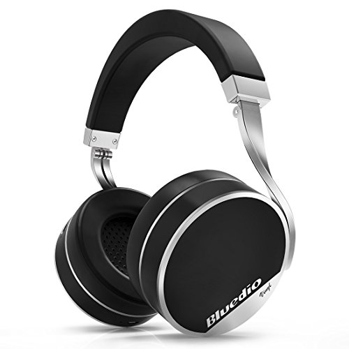 Bluedio Vinyl Plus Léger luxe Casque Bluetooth sans fil (Noir)