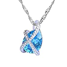 buy Hotlove European And American High-End Items Of Jewelry Korea Fashion Pendant Geometric Crystal Necklace - Spring Dream