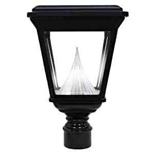 Amazon.com : Gama Sonic Imperial Solar Outdoor LED Light Fixture with