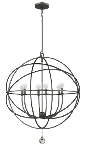 9228-EB Solaris 6LT Pendant, English Bronze Finish