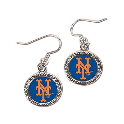 MLB New York Mets Round Earrings, Large, Multi