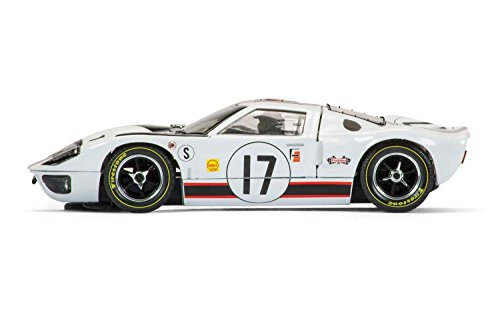 Scalextric C3653 Ford GT40 #17 Slot Car (1:32 Scale)