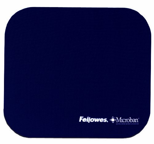 Fellowes Mouse Pad with Microban, Blue (5933801) (Microban Mouse Pad compare prices)