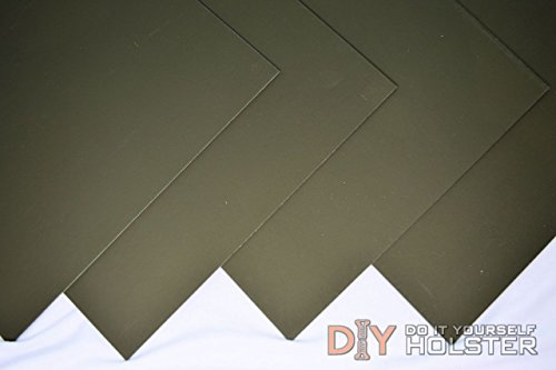 Kydex T, P1 Haircell Finish, 8 x 12 x .080, Olive Drab, 2 Sheets rothco vintage olive drab air corp t shirt