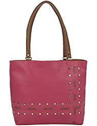 Kacey::Kacey Pink Shoulder Bag::Kacey Shoulder Bag::Designer Shoulder Bag::Women Shoulder Bag::PU Shoulder Bag...