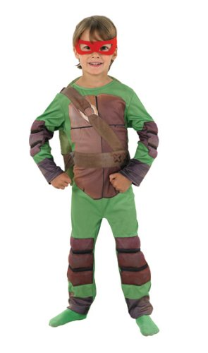 Teenage Mutant Ninja Turtle Childs Large Size Fancy Dress Costume Kids Tv Hero