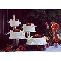 Clear Wedding 3 Tier Cupcake,Cake Stand Set