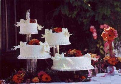 4 Tier XL Clear Wedding Cupcake Cup Cake Stand Set NEW