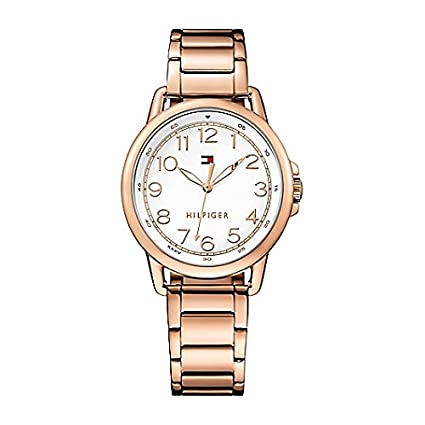 Analogue Rosegold Tone Steel Bracelet Womens Watch  TH1781657J available at Amazon for Rs.10445